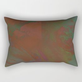 Grayed Rectangular Pillow