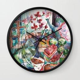 Snacks & Supper Wall Clock