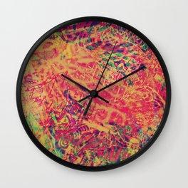 Philosopher & Fool - Color Jungle Wall Clock