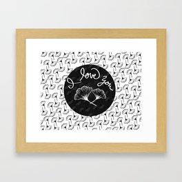 gingko Framed Art Print