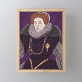 Queen Elizabeth I Framed Mini Art Print
