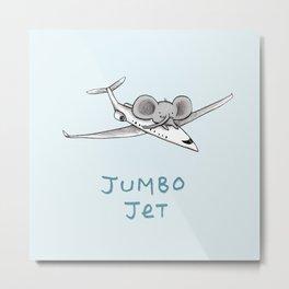 Jumbo Jet Metal Print