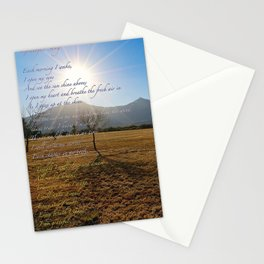 Grateful Song Stationery Cards