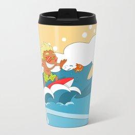 Non Olympic Sports: Surfing Travel Mug