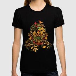Gandhi Psychedelic Khokhloma T-shirt