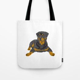 Hottweiler dog Tote Bag