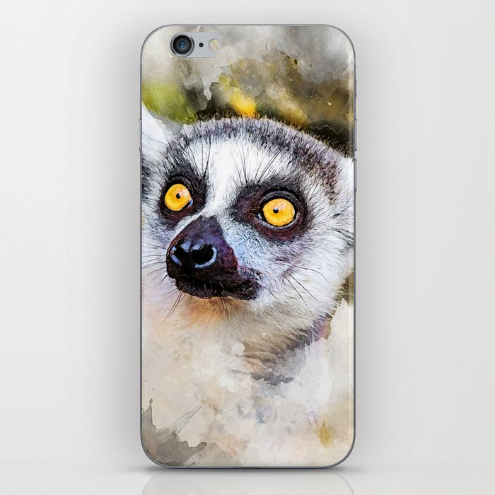 Lemur #lemur #animals iPhone Skin