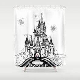 Mouse in Love Shower Curtain