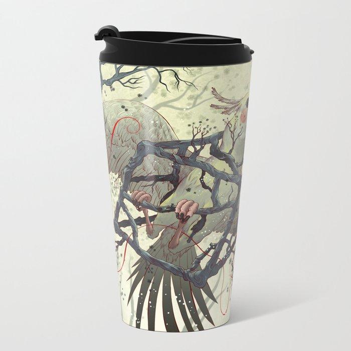 Artificial Habitat Metal Travel Mug