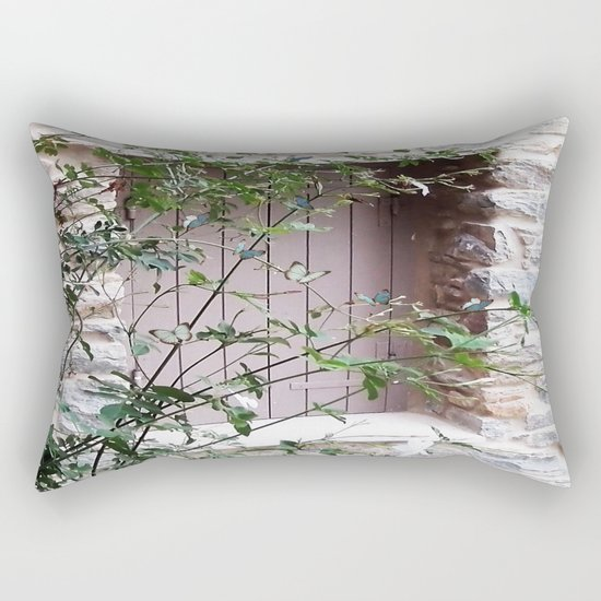 Window in Tinos Rectangular Pillow