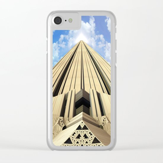 Pyramid of the Daylight Clear iPhone Case