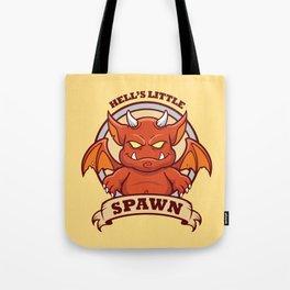 Little Red Devil Tote Bag