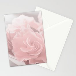 Lovely Rose in soft pink pastel tone Stationery Cards