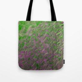 Green Purple Sand Tote Bag