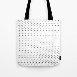 Vector Field basic - Gray Tote Bag