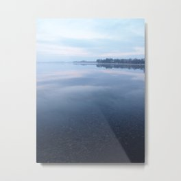 A vision of Pickerel Lake: spring-fed and undisturbed Metal Print