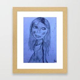 Chi's Skin Framed Art Print