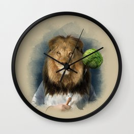 The lion's share Wall Clock