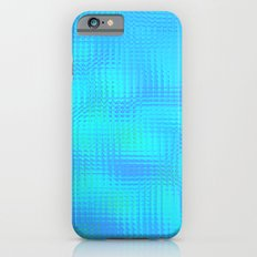 Blurry blue glass Slim Case iPhone 6s