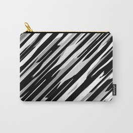 Diagonals mix gray Carry-All Pouch
