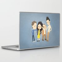 seinfeld Laptop & iPad Skins featuring My Seinfeld Fantasy by Vera van Groos
