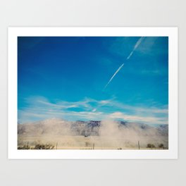 Utah Dusty Trail Art Print
