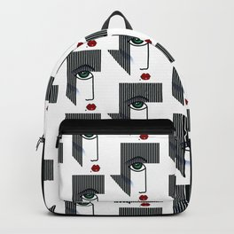 Woman's Profile Backpack