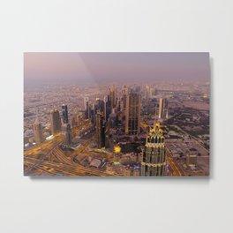 Dubai 17 Metal Print