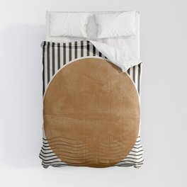 Abstract Modern Poster Comforters