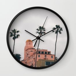 La Jolla 1 Wall Clock