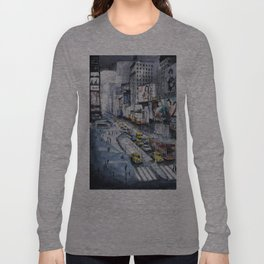 Time square - New York City Long Sleeve T-shirt