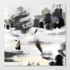 wintercoat Canvas Print