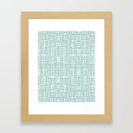 Mint Marks Framed Art Print