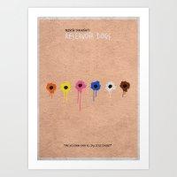reservoir dogs Art Prints featuring Reservoir Dogs 2 by A Deniz Akerman