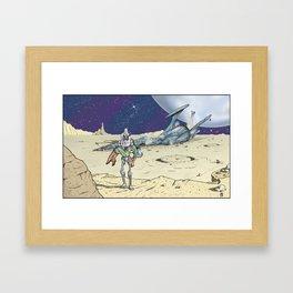 Steel Rescue Framed Art Print