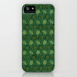"""William Morris """"Tulip and Lily"""" 1. iPhone Case"""