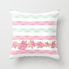 Shabby Chic Throw Pillow