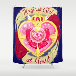 Magical Girl At Heart Shower Curtain