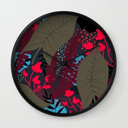 Welcome to the Jungle 4 Wall Clock