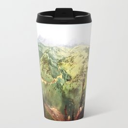 Vintage mountains Travel Mug