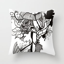Lost track of time... Throw Pillow