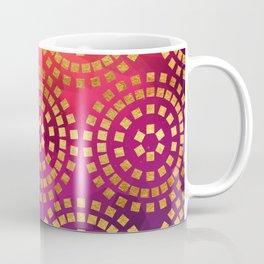 Summer Heat Geometric Pattern Coffee Mug