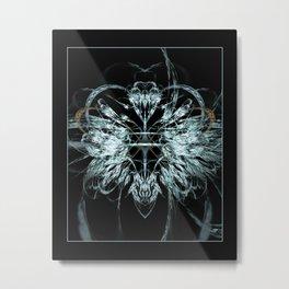 Angel Wings Fractal Metal Print