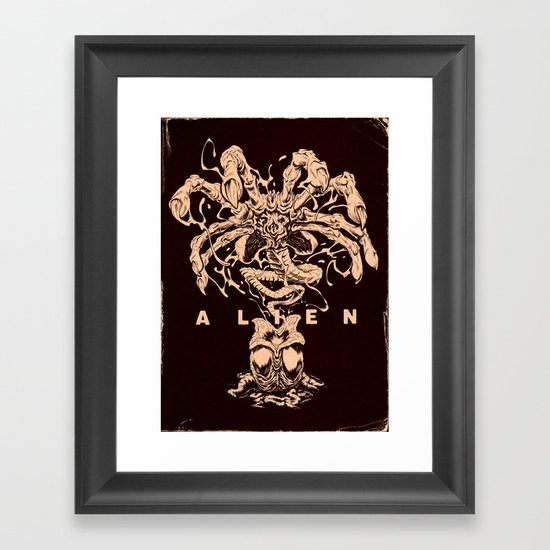 ALIEN: FACEHUGGER Framed Art Print