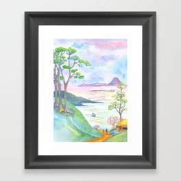 A Japanese Sight Framed Art Print