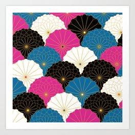 Japanese Chrysanthemum 2 Art Print