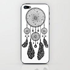 Dreamcatcher (Black & White) iPhone & iPod Skin