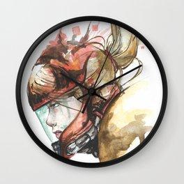 Zero Laser Wall Clock