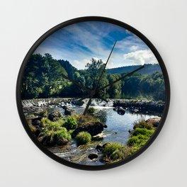 Sunny Nature Landscape Wall Clock