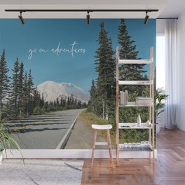 go on adventures Wall Mural
